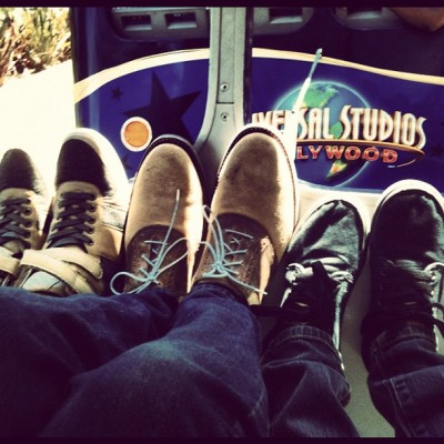 Shoes? And Universal Citywalk! (Taken with Instagram)