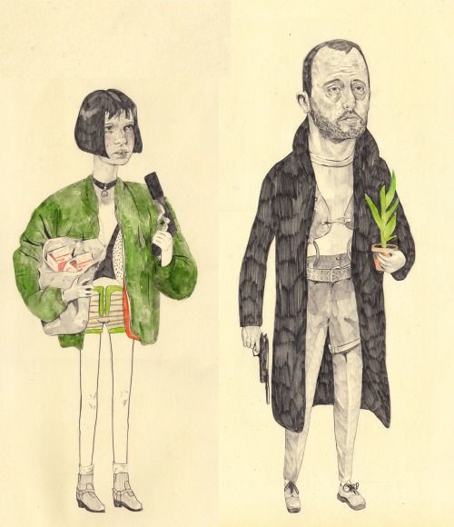 eatsleepdraw:  Léon and Mathilda