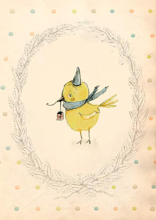 holli (via Happy Birthday III PRINT 4X6 by holli on Etsy)