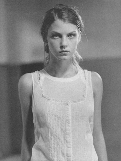 angela lindvall shot by glen luchford for miu miu spring/summer 1997