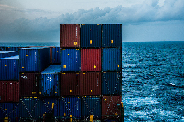 Container / Sea / Ship on Flickr.