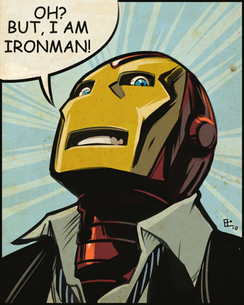 Oh but I Am Ironman! by Emilio J.Lopez