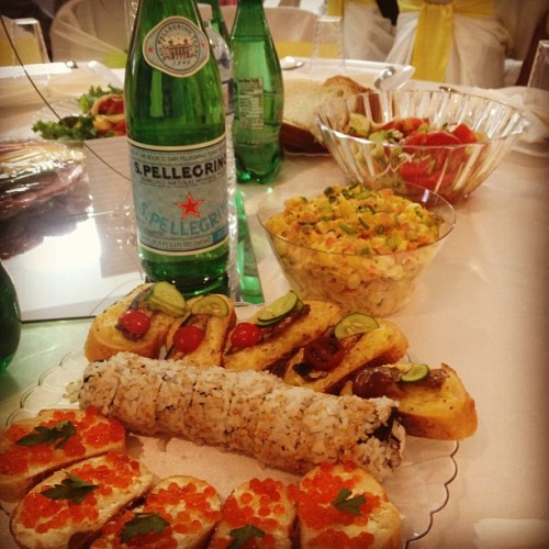 #food #caviar #wedding #family #summer (Taken with Instagram)