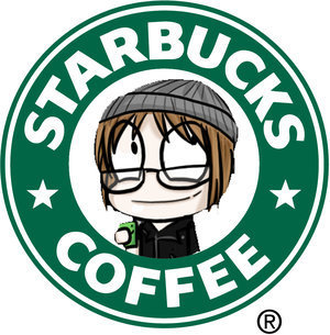 anothermcrcrazedfan:  Mikey needs to promote Starbucks. End of story.  Much cuter logo!