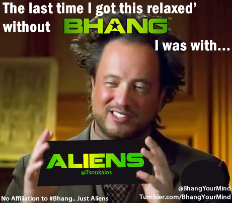 @Tsoukalos #BhangsOurMind #AncientAliens #Enlightenment #BhangYourMind #HistoryChannel #EverythingIsOne @JRESoundboard