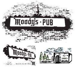 MOODY'S PUB - Interface design and Illustrations - Moody's Pub has been a Chicago institution since 1959, so when Jake (the original owner's son) approached us to develop a new website for them, we wanted to retain as much of the existing, classic imagery around the restaurant as we could. After assembling photos of the signage, illustrations from previous menu and t-shirt designs, and a series of interviews with Jake, we were able to assemble an updated iteration of the brand that Moody's already had well established. The result is a website interface design that draws from the rich history of the establishment without leaving it in the past. http://moodyspub.com