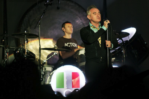 j0sefk:  morrissey in grado, yesterday. fantastic night.
