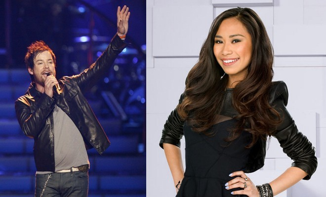 "David Cook Says Jessica Sanchez is ""Really, Really Good' (via Mstarz)"