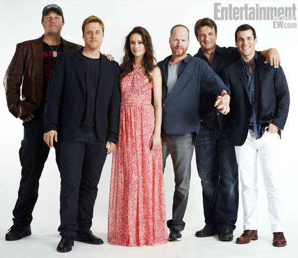 Firefly Comic-Con Cast Potrait by Michael Muller, July 13th 2012