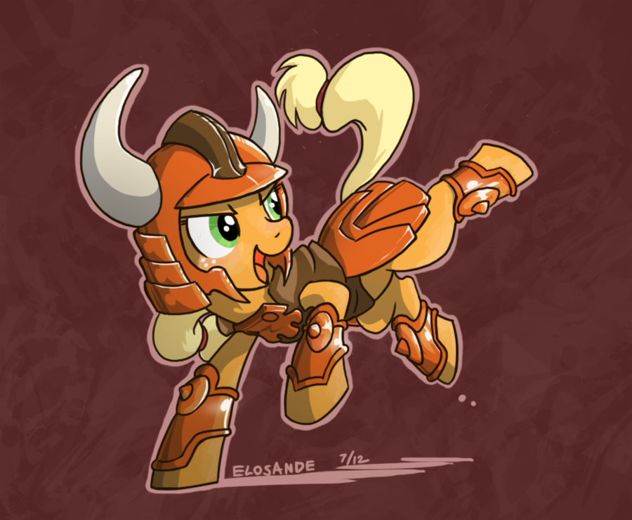 mechasenpai:  Ronin Ponies by *Elosande OMG.  I need more of these please.  This is awesome.