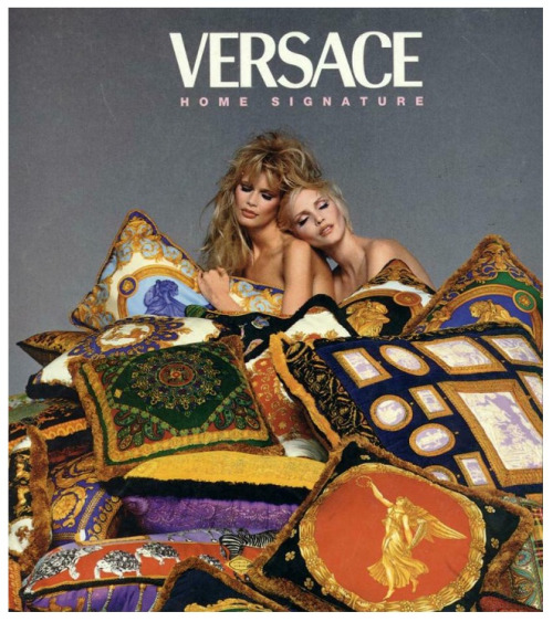 Versace Home  1995 Richard Avedon