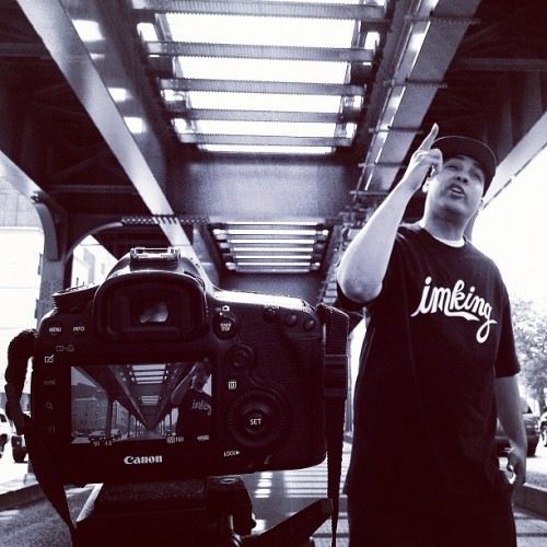 On set shooting @jasiri_x for the #10FriskCommandments ##TWIBradio (Taken with Instagram)