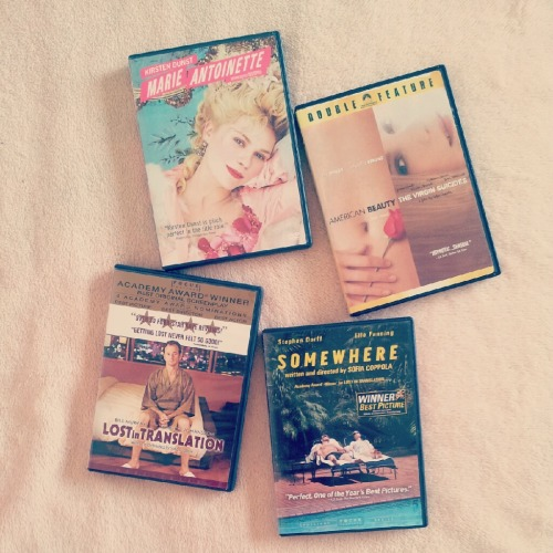 lettersfromnaoko:  7.14.12 in the mood for a sofia coppola movie marathon