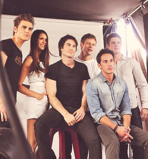 Next stop for our Comic-Con yacht: Mystic Falls with the cast of The Vampire Diaries! #TVD (x)