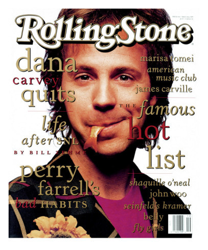 Retro: Dana Carvey Rolling Stone Cover by Mark Selinger