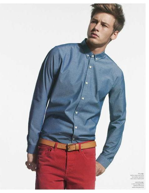 Alfred Kovac in Canadian apparel label Joe Fresh campaign.