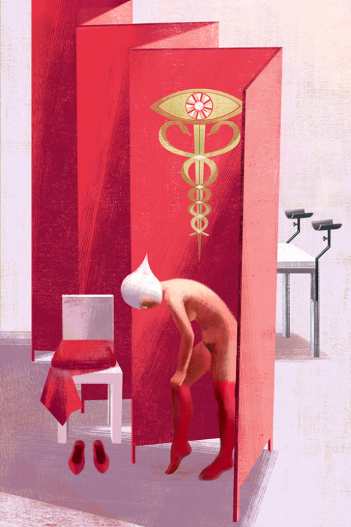 infrontofira:  Anna & Elena Balbusso  just finished: The Handmaid's Tale by Margaret Atwood