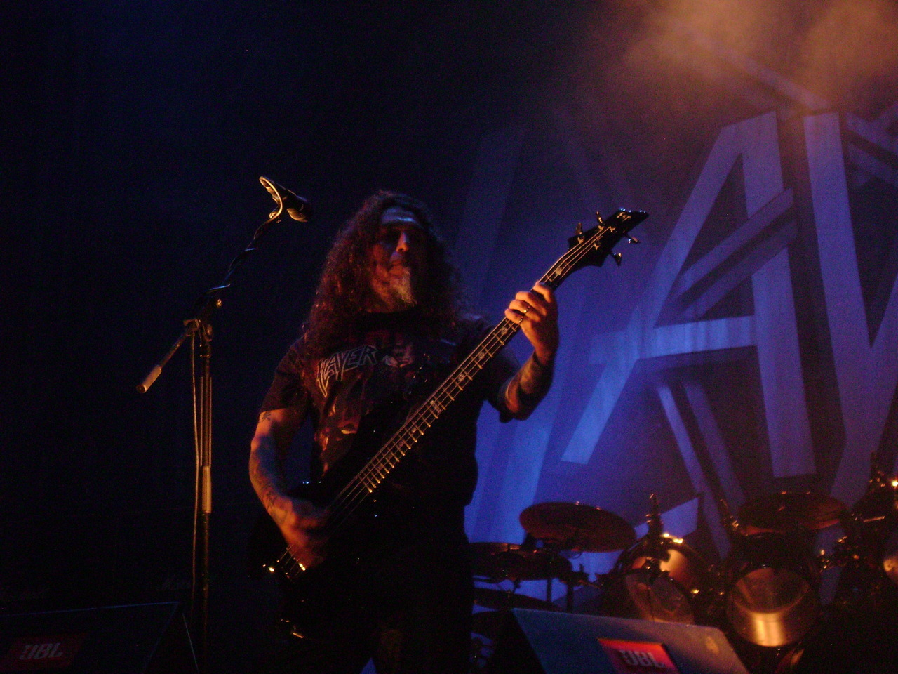 And Slayer..about a month ago.It was their 3rd show in my country and second for me :) Enjoyed it a lot,still excited,you see.Setlist: few posts below :)