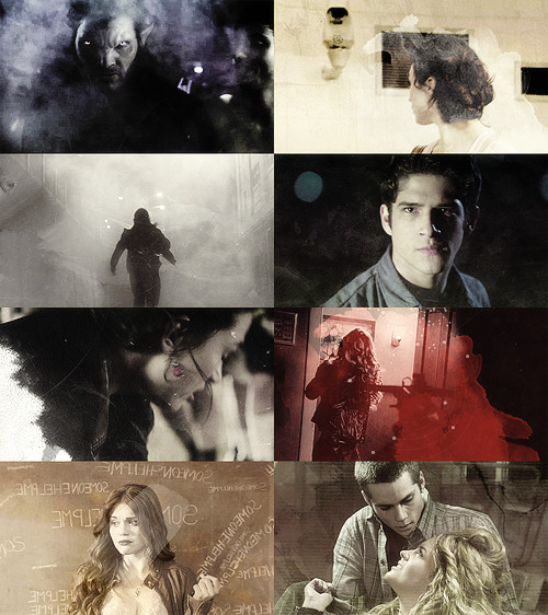 Colour Meme → Teen Wolf + Black