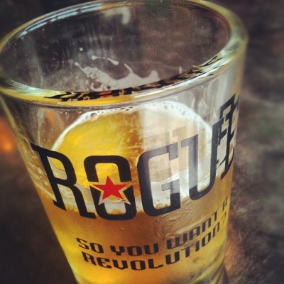 Taken with Instagram at Rogue Ales Brewery