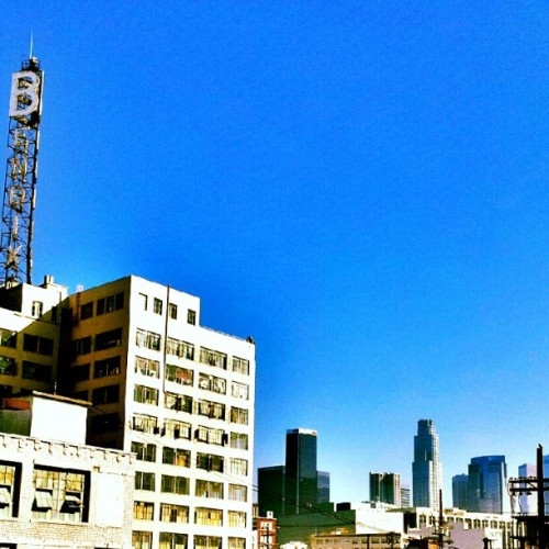Beautiful sunny day in LA #downtown #losangeles #LA #southerncali #westcoast #theprimesuspects #nowornever  (Taken with Instagram)