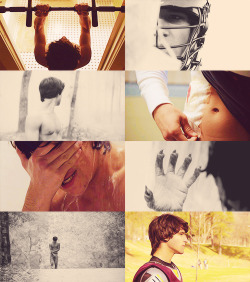 Scott McCall -> 1.01 Wolf Moon  What new obsession?