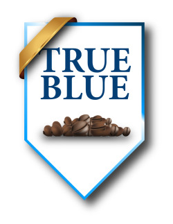 True Blue Badge - logo created for True Blue. True Blue is a Refined High end coffee brand produced in Jamaica. Well loved so far by those who have tried it and seen the image of the brand. Was a fun job for me to work one and the direction they are heading in makes me even more proud to have done this logo. I will update this post as they become more public with thier products and branding.  Hit them up on FB https://www.facebook.com/truebluejamaicacoffee or https://www.facebook.com/TrueBlueJamaicanCoffee Website coming soon.