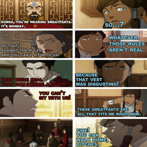 The Legend Of Korra / Mean Girls #2  #1 [x]