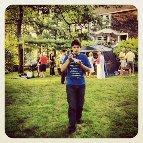 Garden party @ Lake Charles #dartmouth #summer  (Taken with Instagram)