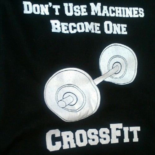 My new shirt #Crossfit  (Taken with Instagram)