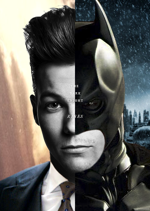 Louis Tomlinson└ The Dark Knight