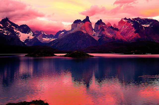 whisped:  Torres del Payne sunset (Chile) by sasha_h on Flickr.