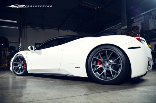 What SPE does to a Ferrari 458
