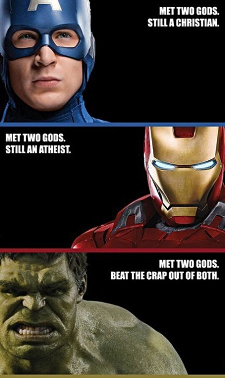 Which is why Hulk is my favourite.