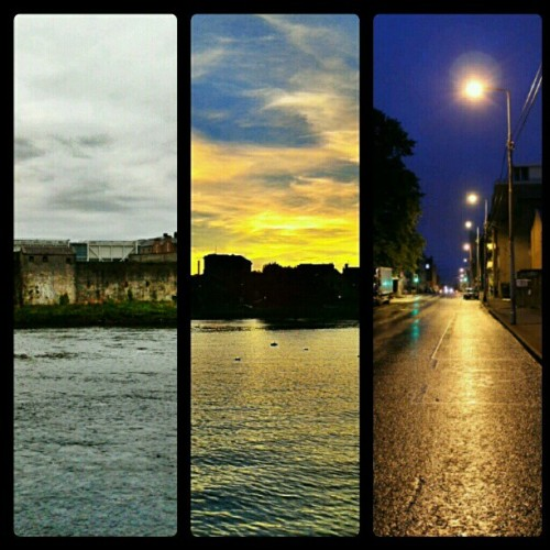Stages of light In Limerick City