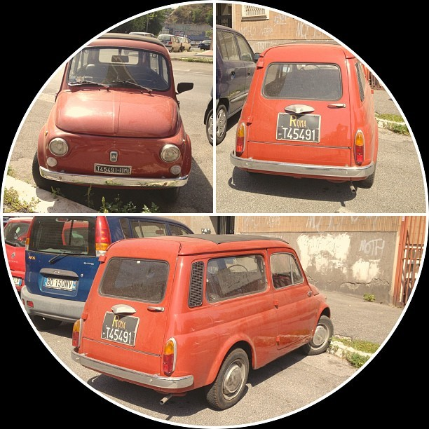 #Giardiniera #fiat500 #fiat  (Taken with Instagram at www.monicamicu.com)