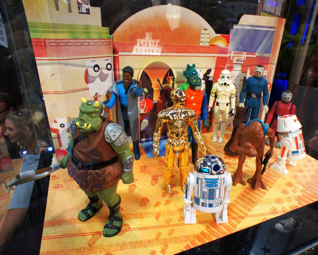 "Gentle Giant 12"" figure remakes of Vintage Kenner Figures."
