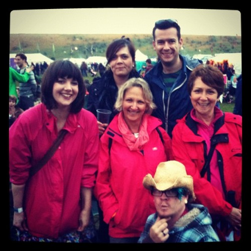 charliebath:  Family times at Summer Breeze… Plus Mr Faye! (Taken with Instagram)  Awesome times!!