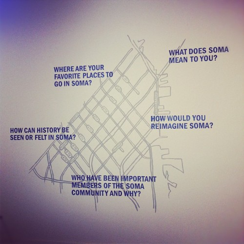 dorothysantos:  What does SOMA mean to you? @SOMArts (Taken with Instagram at SOMArts Cultural Center)