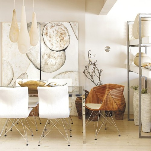 (via Dining room | Nature-inspired Cape Town house tour | housetohome.co.uk)