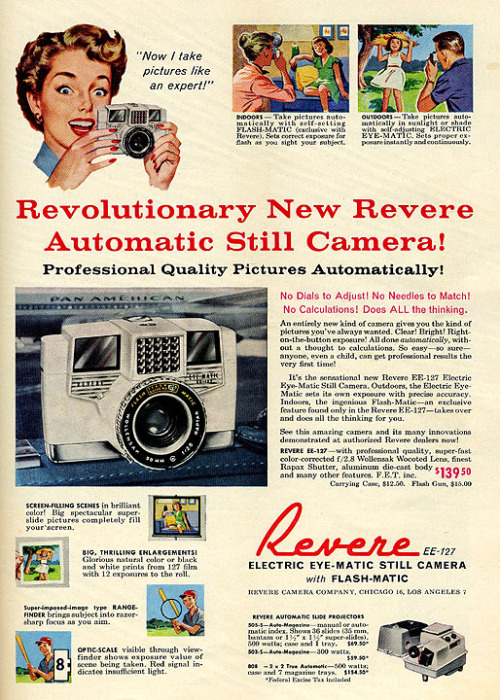 1959 Camera Ad by DewCon