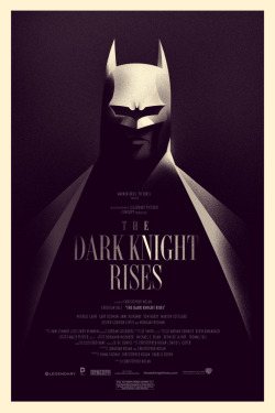 The Dark Knight Rises (2012) - Olly Moss