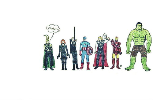 Avengers FB cover by ~saltylime