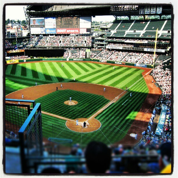 Baseball! #Mariners (Taken with Instagram at Safeco Field)