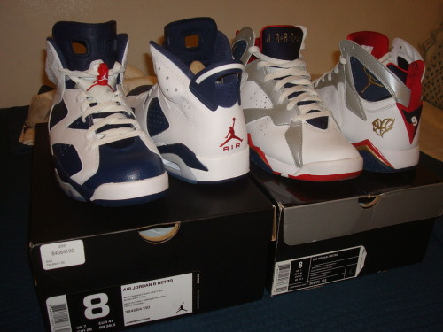 My Olympic 6's came in. <3