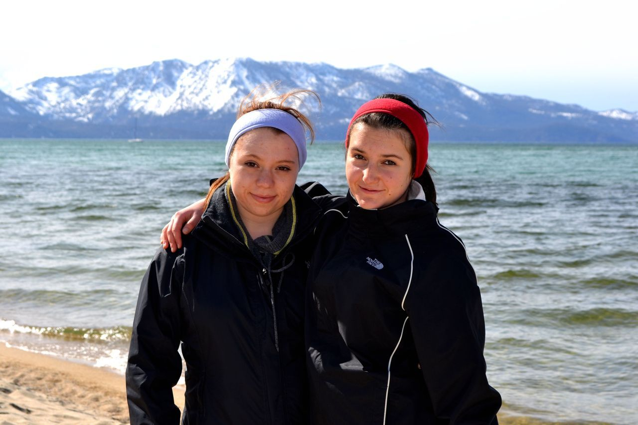 monumentalglory:  Lake Tahoe, California<3 Rach and I. <33333  luh my sister