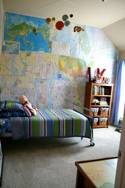ellaminnowpeas:  my boys room by bckueser on Flickr.