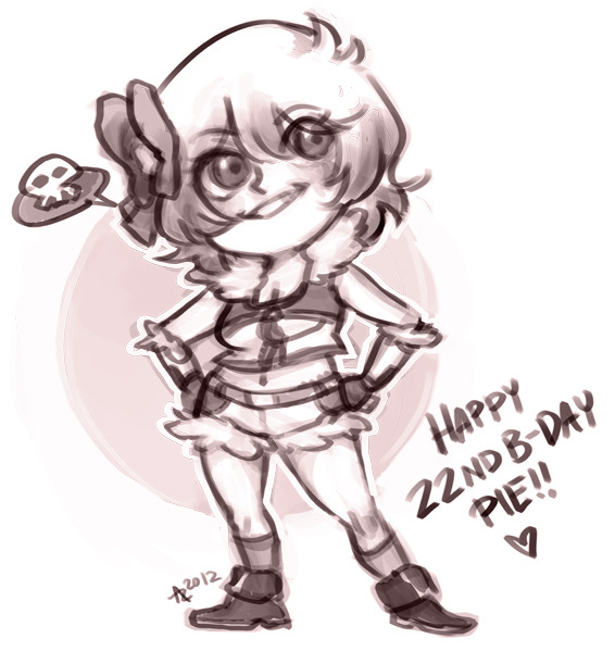 azbat-art:  Candy for the lovely piebutt's birthday!! Everyone should go follow her and give her a happy birthday because she's kawaii as hell and a rEALLY COOL PERSON YE???  oh wow HEY THERE CUTIE. fbsdoufbds what a perfect chibi she looks so SASSY I LOVE THIS FFFFFF. and sh she lies I'm not kawaii i'm totes a big baka 8u8