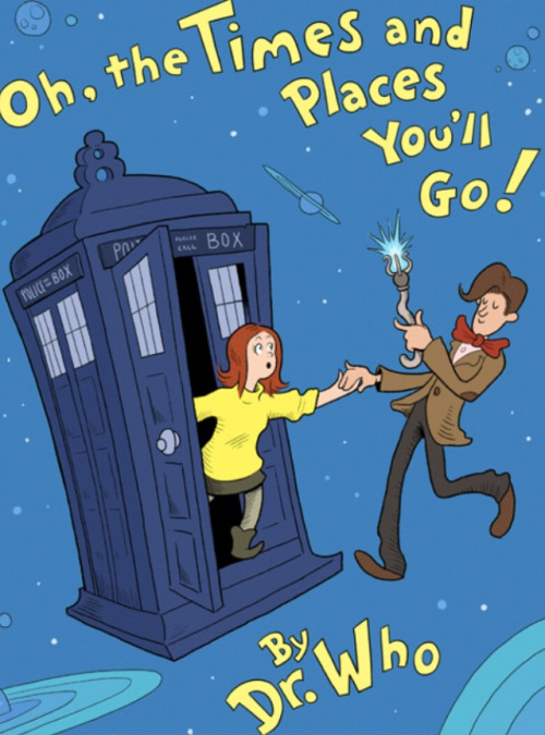space-time-glory:  Doctor Who, by Dr. Suess