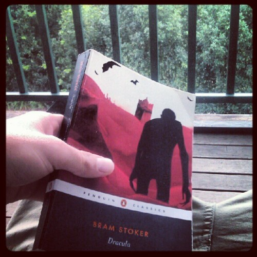 Relaxing with the family #sundaymorning #dracula #bramstoker #wetweather (Taken with Instagram)
